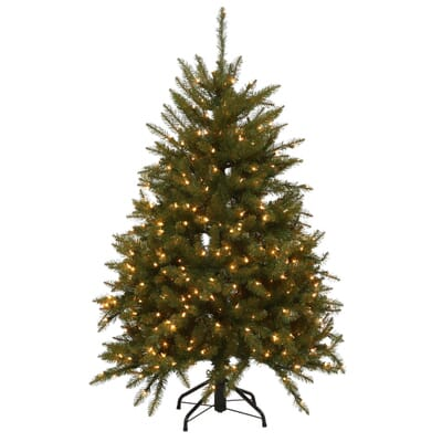 4 - Home Depot White Christmas Tree