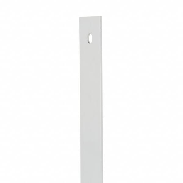 Straight edge ruler crafted of heavy-duty aluminum