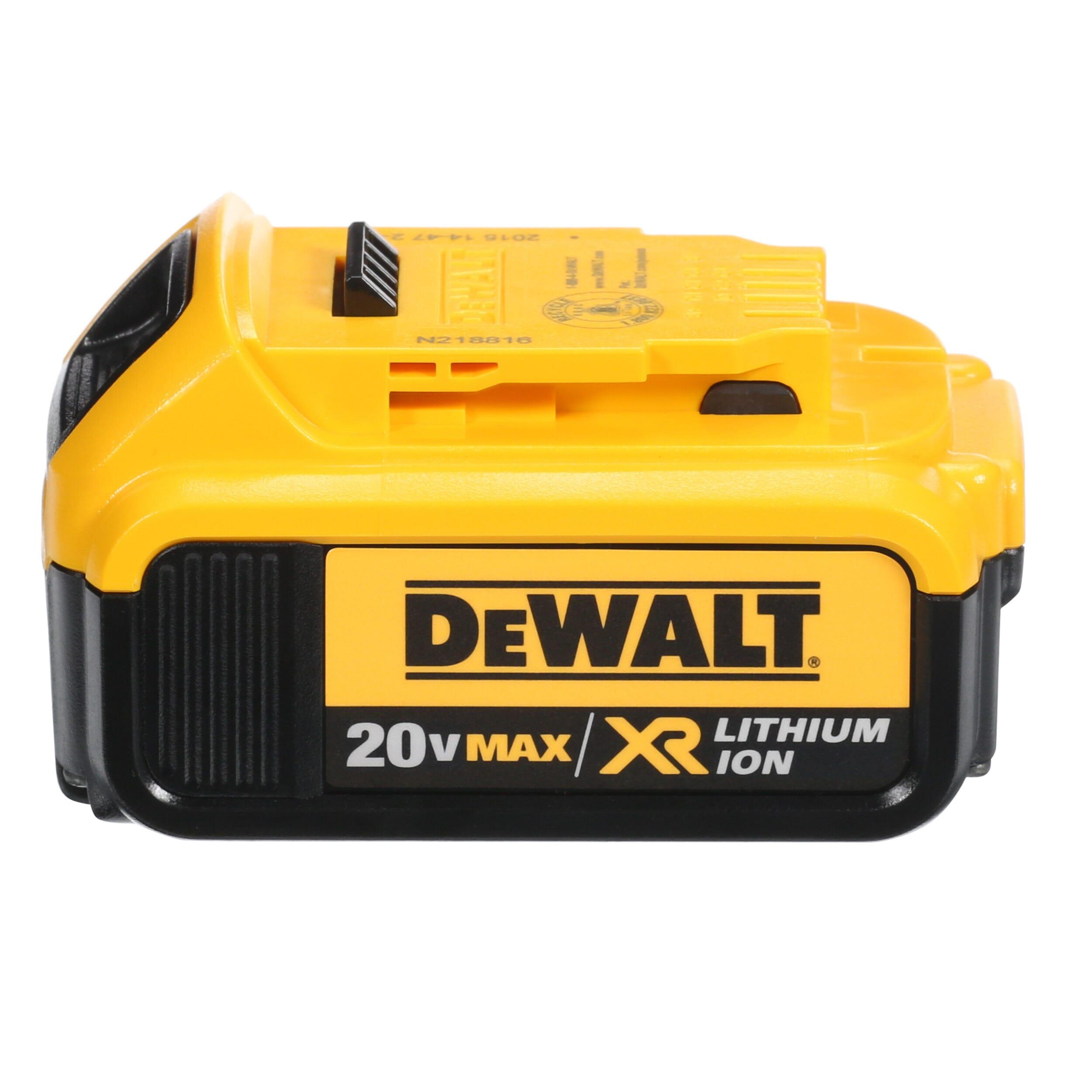 DEWALT 20-Volt MAX XR Lithium-Ion Premium Battery Pack 4.0Ah (2 ...