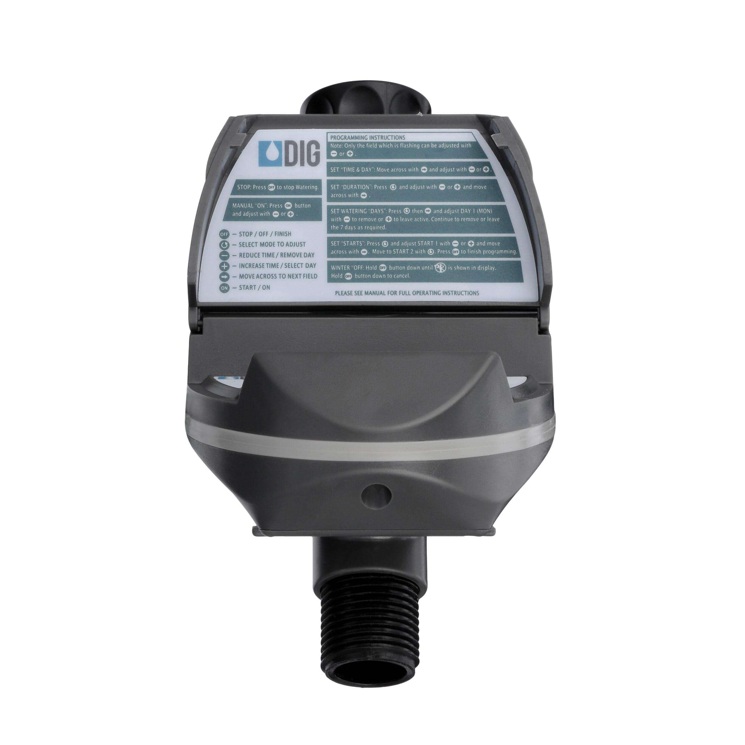 DIG Digital Hose Thread Watering Timer-BO9DB - The Home Depot
