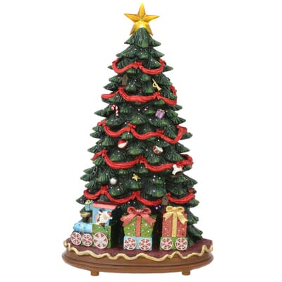 fiber optic led christmas tree with music 2 - Led Christmas Trees