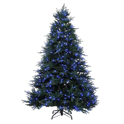12 - Home Depot White Christmas Tree