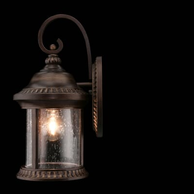 Home Decorators Collection Cambridge Outdoor Essex Bronze Large Wall Lantern 4