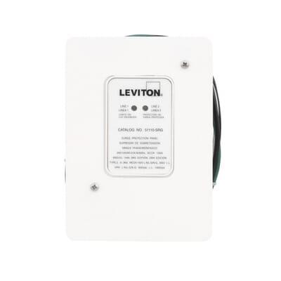 Leviton 120240Volt Residential Whole House Surge ProtectorR02 – Leviton In-wall Surge Protector Wiring-diagram