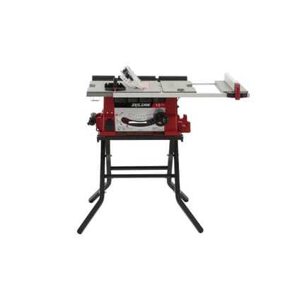 Skil 15 amp corded electric 10 intable saw with folding stand table saw with folding stand 8 greentooth Choice Image