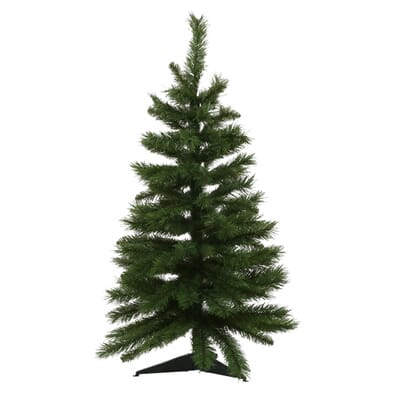 unlit tacoma pine artificial christmas tree 4 - 3 Christmas Tree