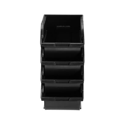 Stackable And Mountable Storage Bins 2