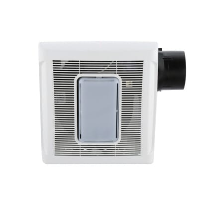 7. NuTone InVent Series 80 CFM Ceiling Exhaust Bath Fan with Light